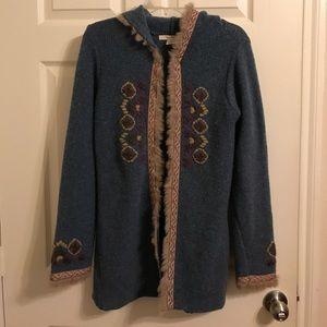 Free People sweater jacket size M