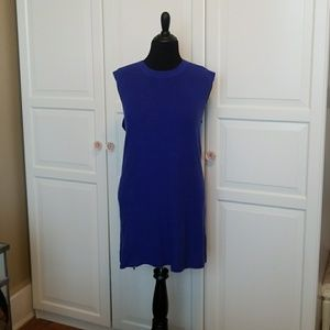 Banana Republic Blue sleeveless sweater tunic