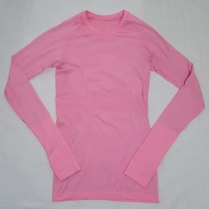 Lululemon Hot Pink Swiftly Long Sleeve Top - 4