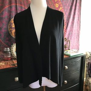 Black sweater cover up size S