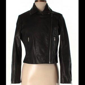 NWOT Topshop Genuine Leather Jacket