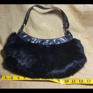 55e4f81e6c Kenneth Cole Bags - Kenneth Cole Black Fur Purse 🍁Excellent condition