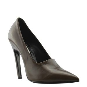 Balenciaga Leather Pumps, Size 6.5 (135149)
