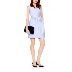Kate Spade V shaped neckline dress