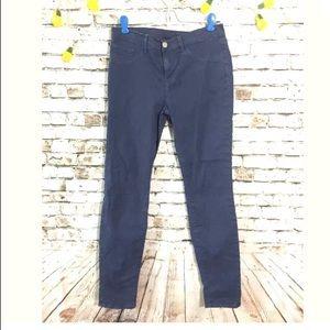 J Brand Sz 28 light navy skinny leg jeans