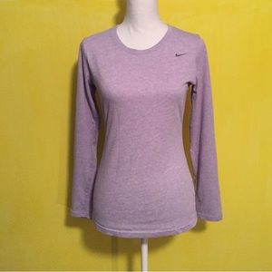 Nike dri fit longsleeve top