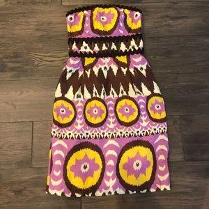 Original Milly of New York Strapless Linen Dress 2