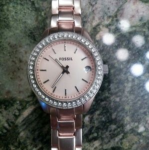 Fossil Rosegold Watch
