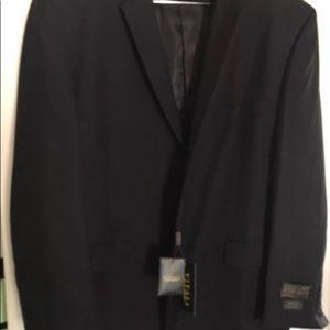 Other - NWT Men's Designer Black VITALI Blazer 52R.