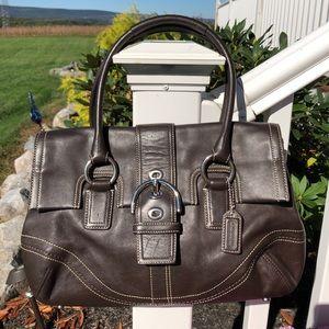 Coach leather classic purse