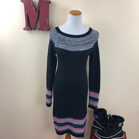 82% off Athleta Dresses & Skirts - ATHLETA Fair Isle Sweater Dress ...