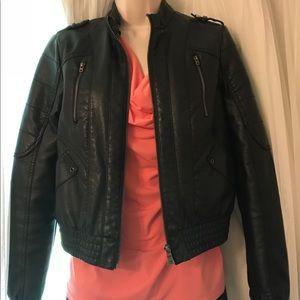 Jackets & Blazers - Nordstrom Bernardo Collection Black Bomber Jacket