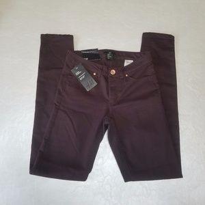 H&M Purple Skinny Super Stretch Jeans