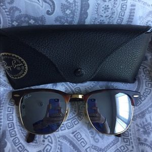 Ray Ban Clubmaster Flash Lenses (RB3016)