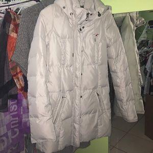 EUC Hollister winter down jacket