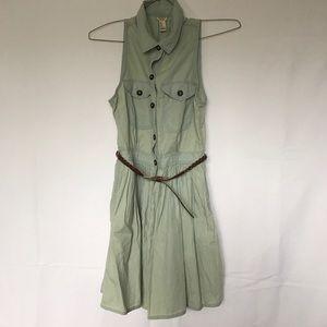 Forever 21 denim dress with belt