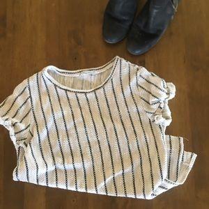 {Zara} knit shirt