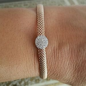 Jewelry - Rose Gold plated Adjustable Bracelet