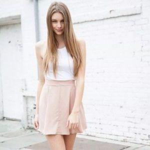 Brandy Melville pink Riana skirt