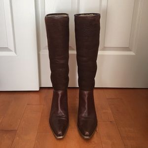 Barney's New York CO-OP shearling boots- size 37.5