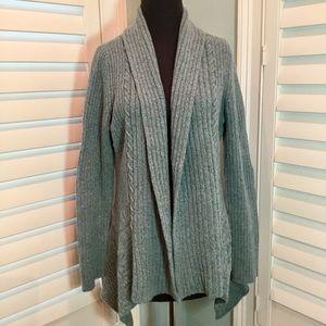 ANTHROPOLOGIE Knitting Needles Cardigan, Med, EUC
