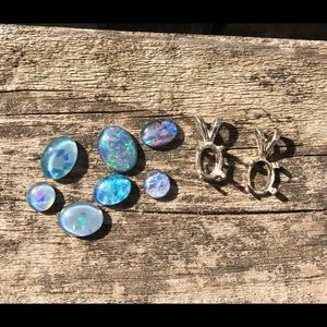 Jewelry - Loose opal triplets
