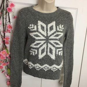 Hollister Super Soft Snowflake Sweater