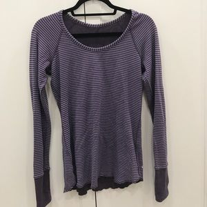 Lululemon Reversible Long Sleeve Size 4