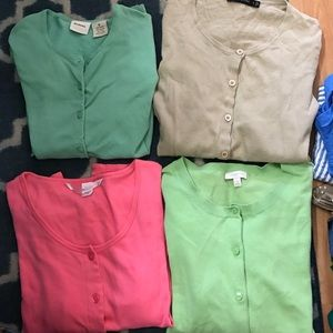 Business cardigan bundle! 4 cardigans for 2$ each!