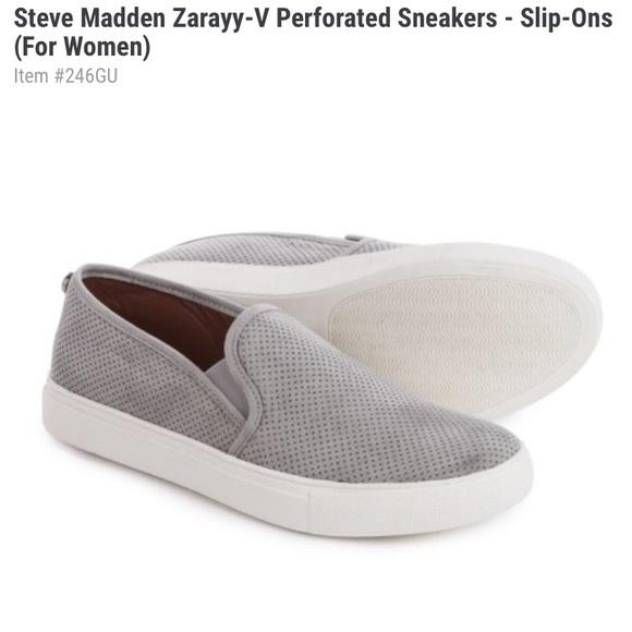 Steve Madden Zarayy Slipon Grey