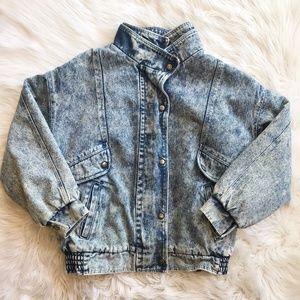 Vintage 90's Jordache Acid Wash Denim Jacket
