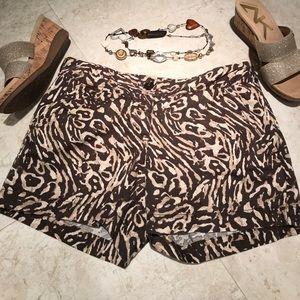 Ann Taylor LOFT Linen Shorts Size 4