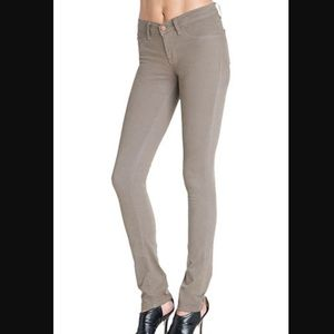 J. Brand taupe skinny pencil leg jeans 29