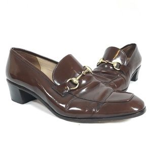 ❌ SOLD ❌ Gucci Horsebit Brown Leather Loafers 9.5