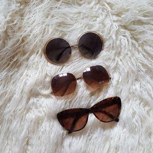 Sunglasses (3 pairs)