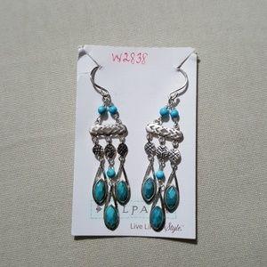 Silpada Chic chandelier earrings