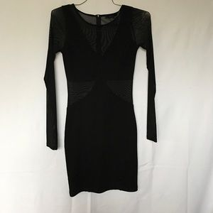 Sexy mesh black dress from forever 21