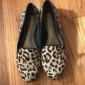 Kelly & Katie leopard print loafer. Size 8