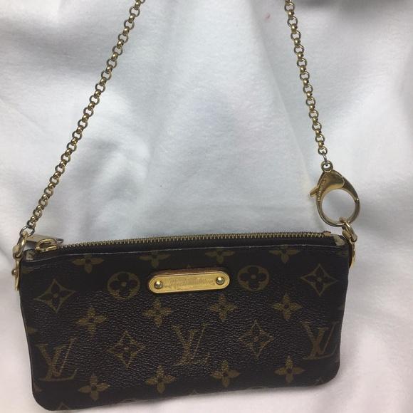 2023051551ac Louis Vuitton Handbags - Louise Vuitton Monogram Canvas Milla Clutch MM Bag