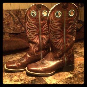 Ariat Cowboy Boots Wide-Calf 8 1/2