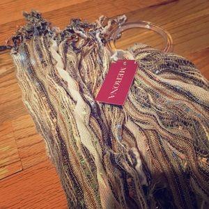 NWT FREE Merona scarf!