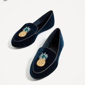 Brand new ZARA size 10 loafers