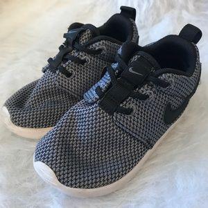 Nike gray slip on shoe boys toddler 6C