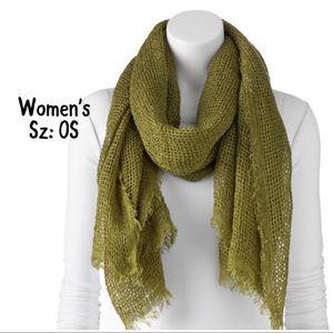 💫NWT🍂Fall Women's Apt.9 fringe Scarf🦋