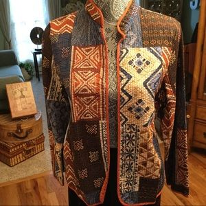 NWOT GORGEOUS LIGHTWEIGHT FALL COLORED JACKET