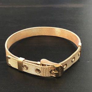RUSTIC CUFF Mesh Buckle Bracelet