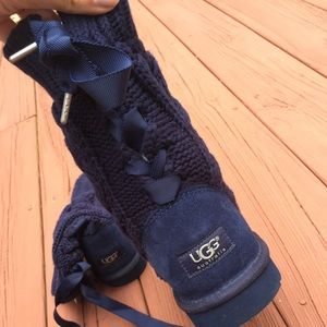Brand new navy blue UGG boots