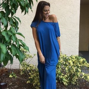 Women's Off-Shoulder Maxi