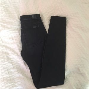 """7 For All Mankind """"The Skinny"""" jeans size 27"""