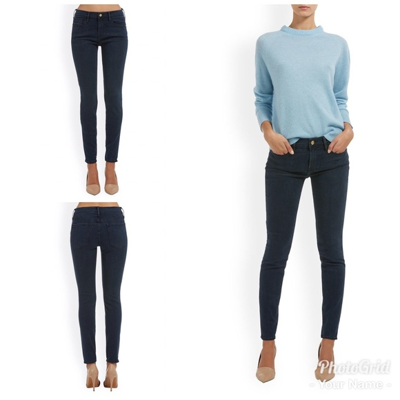 Frame Denim Pants - Frame Denim Skinny De Jeanne Dunsley Jeans
